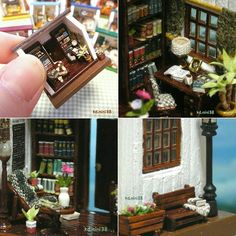 Miniature dollhouse ♡ ♡  By kdmini