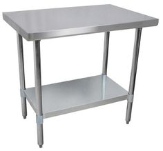 Commercial Stainless Steel Work Prep Table 24 x 30 NSF Certified AB Restaurant Equipment
