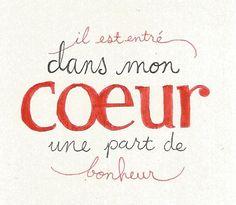 Lyrics from Edith Piaf's la vie en rose