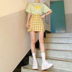 Cute Skirt Outfits, Cute Casual Outfits, Pretty Outfits, Pink Outfits, Korean Outfit Street Styles, Korean Outfits, Korean Style, Kawaii Fashion, Cute Fashion