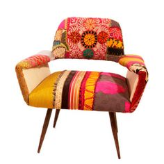 must find some chairs to recover like this- nuLOOM furniture