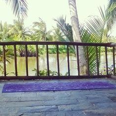 A quiet yoga spot, Hoi An, Vietnam Hoi An, Vietnam, Deck, Yoga, Outdoor Decor, Front Porches, Decks, Decoration