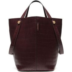 Mulberry Kite Tote ($1,500) ❤ liked on Polyvore featuring bags, handbags, tote bags, oxblood, mulberry handbags, red tote bag, mulberry tote, summer tote bags and mulberry tote bag