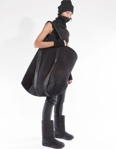 BAG BIG EMBOSS | ACCESSORIES | DEMOWOMAN | DEMOBAZA Store (Now that's a big bag!)