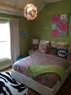 Lily Pulitzer Bedroom