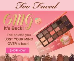 Too Faced Natural Love Eyeshadow Palette Review and Swatches, Spring Summer 2017
