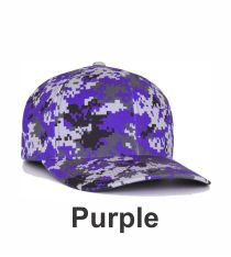 0b8ab6d4bf0 Purple Digital Camo Hat 708F by Pacific Headwear at Graham Sporting Goods  Camo Colors