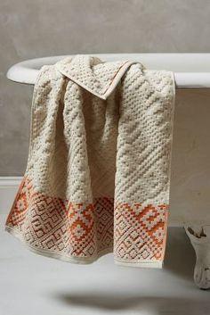Anthropologie Raia Towel Collection #AnthroFave