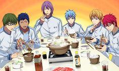 Cuties! Haha poor Midorima, loving Akashi's sweet smile though   KnS   KnB