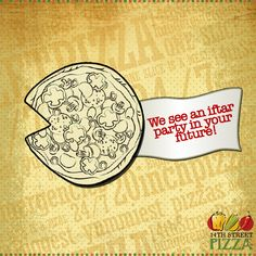We see an #Iftar party in your future. Do you? ;) https://www.facebook.com/14thstreetpizza/app_144644519064028