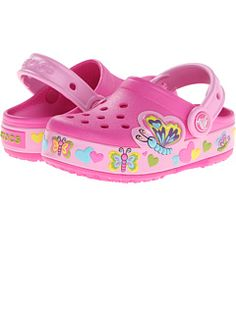 13171a68441d3 crocs Kids  Butterfly PS Light-Up Clog (Toddler Little Kid)