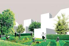 Bronze Holcim Award 2014: Enrique Arenas, Luis Basabe e Luis Palacios, The Commons: Participatory urban neighborhood, Vienna, Austria © Grupo Aranea y Francisco Leiva