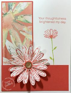 I love the Daisy Delight Bundle! The designer series paper has so many awesome colors and designs. I can't remember the last time I made a card using Calyspo Coral. I decided…