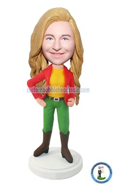 Custom Bobblehead Girl Find unique Christmas presents and gift ideas for men, women and kids at Custom Bobbleheads.