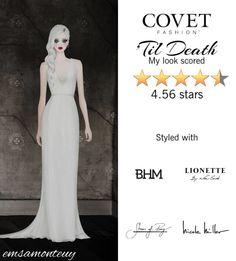 'Til Death @covetfashion  #covet #covetfashion #fashion #covetfall2015 #fall2015 #womensfashion #NicoleMiller #BrooklynHeavyMetal #LionetteByNoaSade
