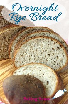 Overnight Rye Bread Recipe – Baking Sense Overnight Rye Bread has great flavor thanks to the rye flour, honey and caraway seeds. Start this rye bread recipe night before to have fresh bread for lunch. Homemade Rye Bread, Rye Bread Recipes, Healthy Bread Recipes, Snack Recipes, Cooking Recipes, Bread Machine Rye Bread Recipe, Sourdough Recipes, Dessert Recipes, Yeast Bread