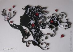 chicas quilling - Buscar con Google