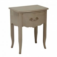 Barbour 1 Drawer Beside Table Lily Manor Colour: Antique White 3 Drawer Bedside Table, Bedside Cabinet, Cube Side Table, Round Side Table, Homestead Living, Dcor Design, Solid Wood, Drawers, Table Settings