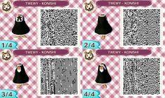 Animal Crossing New Leaf QR Codes: The World Ends With You Inspired Designs - Konishi