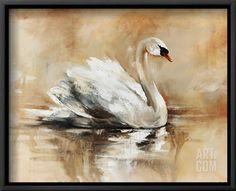 Swan Lake Giclee Print by Sydney Edmunds at Art.com