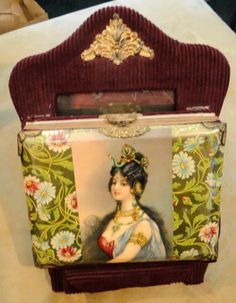 Victorian celluloid photo album
