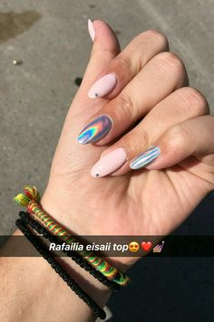#Gel #Nails #Holo #Manix 😍😍