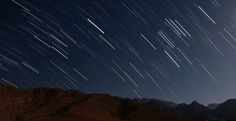 meteor shower star shower shooting stars in night sky
