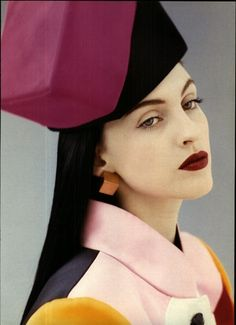 YSL November 1988: She looks like the mean girl in A Little Princess doesn't she?