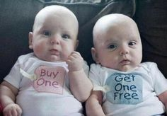 did y'all know?  Twins  could  have been for me♡♡awww babies are love