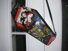 Dracula Coffin Purse by ComaToastCoffinCo on Etsy, $45.00