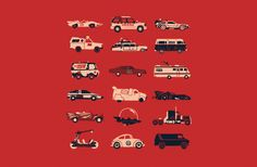 Classic Cars - Tshirt.  $20 How many cars do you know?
