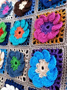 Beyond The Square - Crochet Motifs by Edie Eckman.