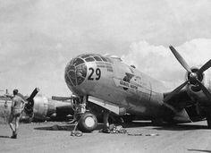B-29 Superfortress Gravel Gertie in WW2  http://www.lonesentry.com/blog/b29-superfortress-gravel-gertie.html