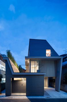 House in Minamiyukigaya by Hugo Kohno Architect Associates - Design Milk