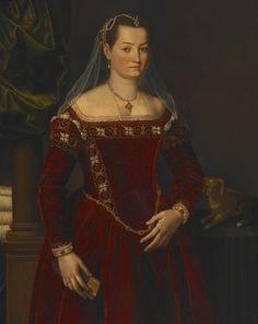 Portrait of a Lady 1560's  Zucchi, Jacopo | Italian | 1540-1596