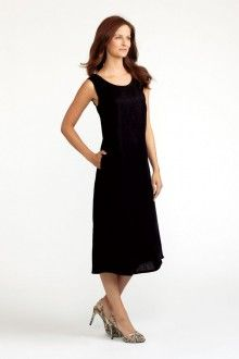 Pocketed Angled Dress (FLAX Neutral 2013)