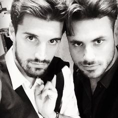 The musical and sexy Luka Sulic and Stjepan Hauser