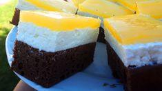 Diétás Fanta szelet cukor és zsíros vajkrém nélkül - CSAK 7 g CH! - Szénhidrátcsökkentett Receptek Pcos, Cheesecake, Pudding, Sweets, Healthy Recipes, Desserts, Wellness, Smoothie, Disney