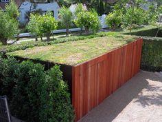 tuinhuis met groendak - Google zoeken