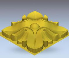 3d model relief  for cnc in STL file format rosette_26