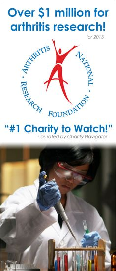 ANRF supports over $1 million for arthritis research!