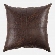 Brentwood Faux Leather Pillow