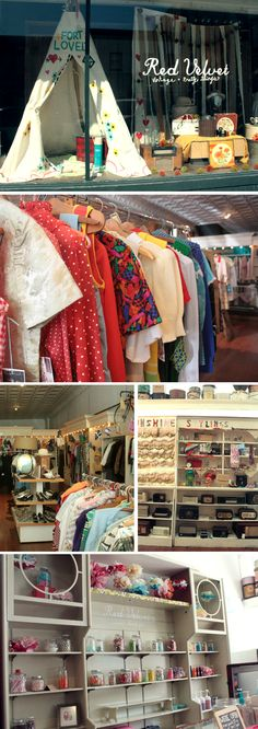 Thrifting in Springfield Missouri -- super cute places to visit