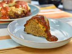 Get Sunny's Meat and Potatoes Bundt Loaf Recipe from Food Network