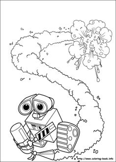 wall e coloring pages wall e coloring page