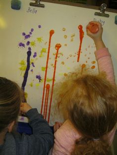 Irresistible Ideas for play based learning » Blog Archive » why sit when you can…