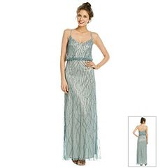 Bridesmaid Dress   Adrianna Papell® Slate Blue Blouson Beaded Gown available at @Boston Store.