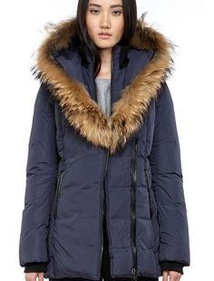 ba05a10ead57a Mackage down jacket women short paragraph  ADALI-F4FITTEDWINTERDOWNCOATWITHFURHOOD- Taobao 1200rmb