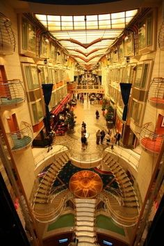 Inside the Freedom of the Seas Cruise Ship