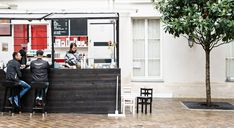 Ten amazing new places I discovered in Paris - Outdoor Coffee Bar Honor